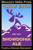 Purple Moose - Snowdonia Ale